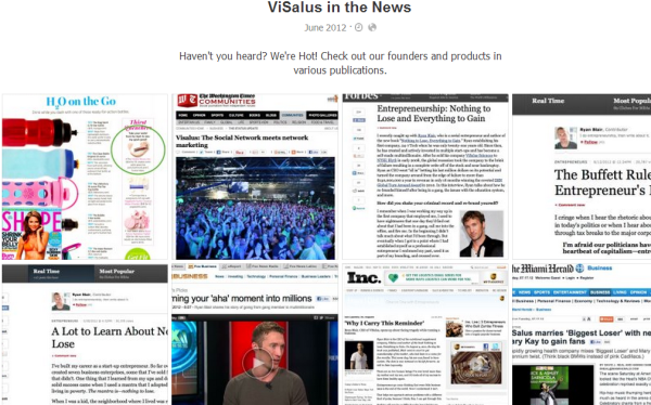 ViSalus in the news